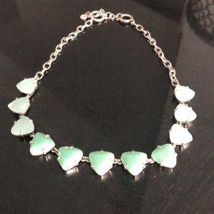 Opal necklace.